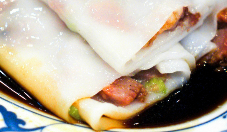 How to Make BBQ Pork Noodle Rolls