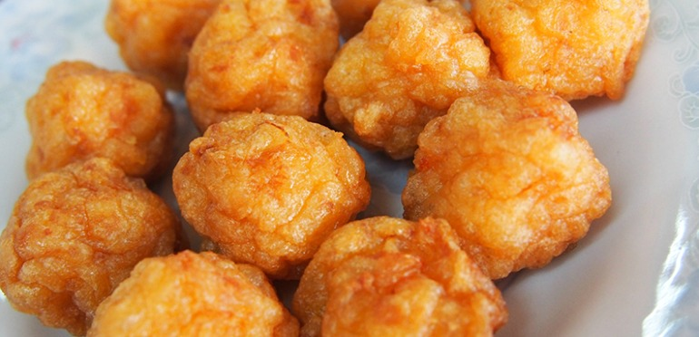 How to Make Deep Fried Shrimp Balls