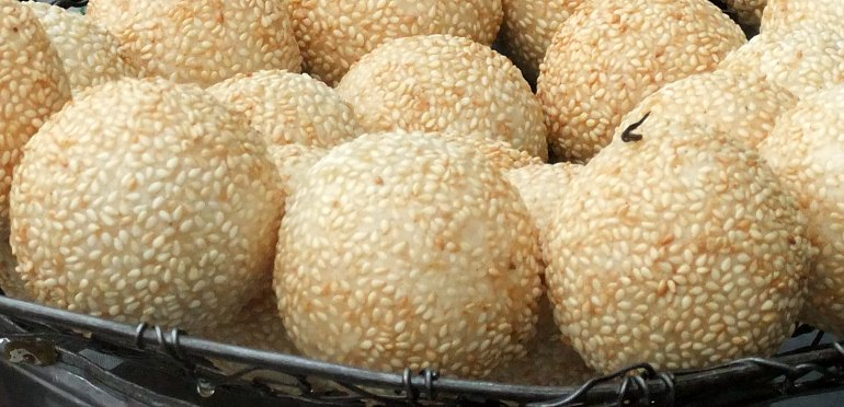 How to Make Fried Sesame Balls
