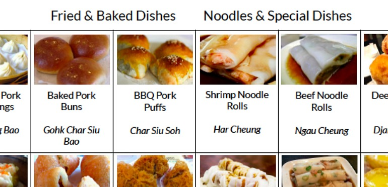 Free Dim Sum Menu Guide with Pictures and Translations | Dim